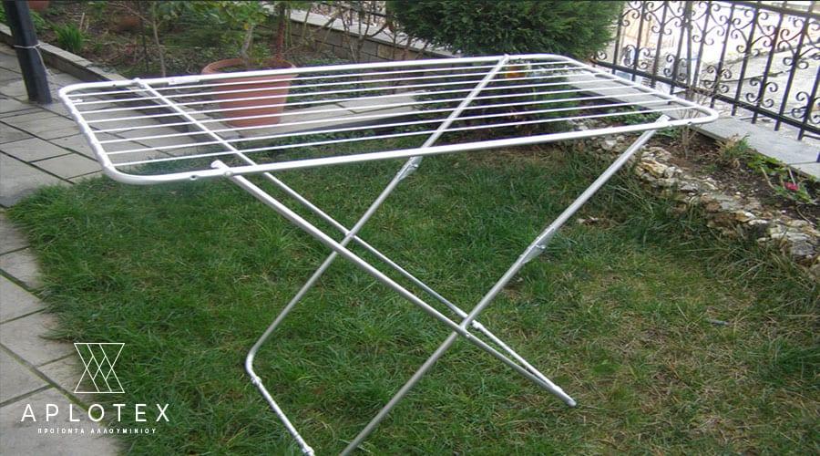 Απλώστρα αλουμινίου Δαπέδου Απλή