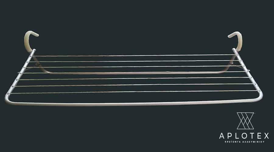 Απλώστρα για τα κάγκελα με σύρμα